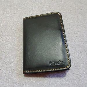 Other - Aurochs 'Gravity' black leather wallet